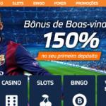 Bônus apostas online. Bônus de 150 Reais