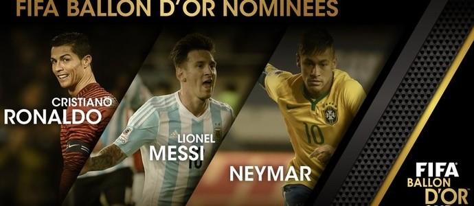 Bola de Ouro FIFA! Quem leva: Messi, Cristiano Ronaldo ou Neymar?