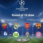 Champions League – Aposte nas oitavas de final