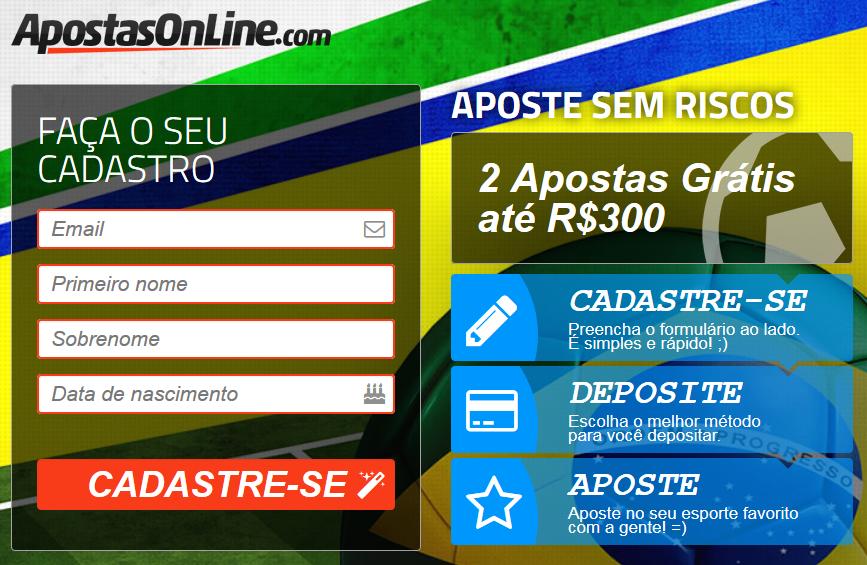 Sites de apostas online gratis