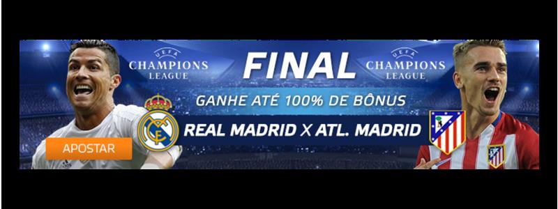 Aposte na final da Liga dos Campeões 2016
