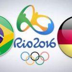 Brasil x Alemanha na final das Olimpíadas Rio 2016