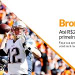 Até R$25 de volta se Tom Brady marcar o PRIMEIRO Touchdown da partida!
