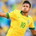 Camiseta da Seleção Brasileira autografada pelo Neymar!