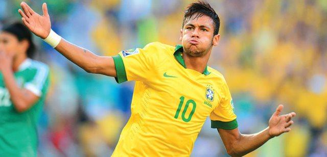 Camiseta Seleção Brasileira autografada Neymar