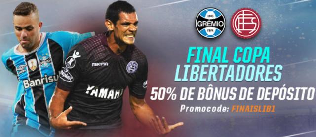 Aposte na Final da Libertadores! Grêmio x Lanús