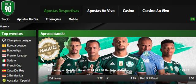 Bet90 – O site de apostas do futebol paulista