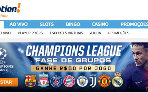 CHAMPIONS LEAGUE – Ganhe R$50 para apostar!
