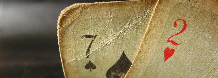 Poker Texas Holdem – Quais são as piores mãos do Poker Texas Holdem?